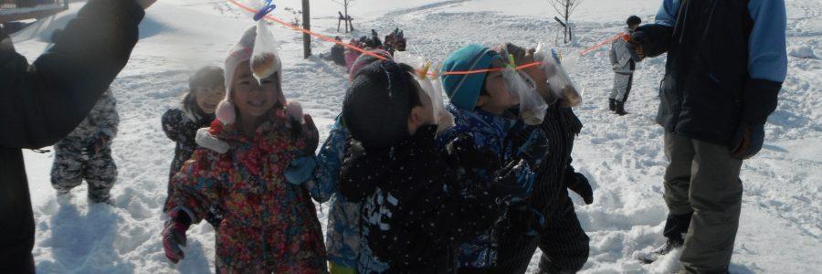 雪上運動会(ぞう組)