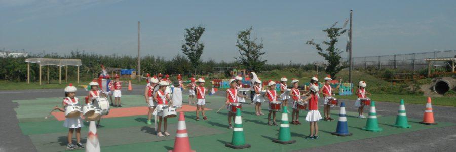 鼓隊の練習(年長・年中児)