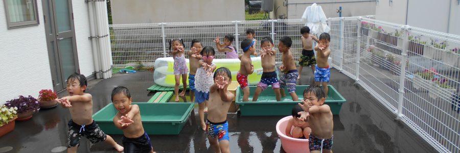 水遊び(年中児)
