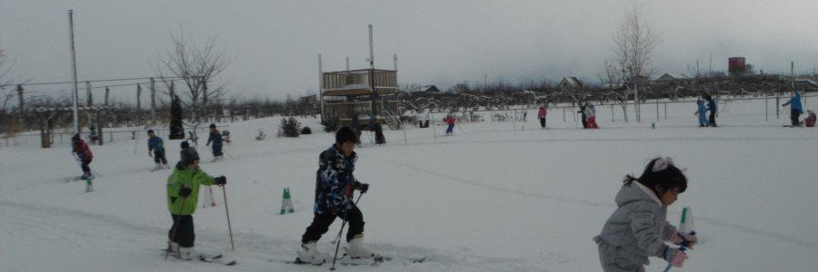 スキー会・外遊び