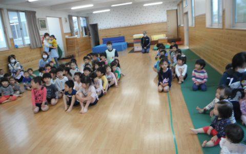 総合訓練・誕生会